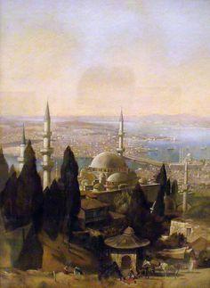 Edmund Berninger, Vue d'Istanbul by magika42000, via Flickr