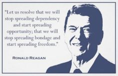 Ronald Reagan: Obama's administration is like an ice cream sundae. Double-Dip recession and all the liberal nuts are on top.