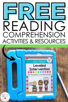 Number Activities, Speech Therapy Activities, Free Activities, Title One Reading, Free Reading Comprehension Worksheets, Teaching English Online, Wh Questions, School Worksheets, Task Boxes