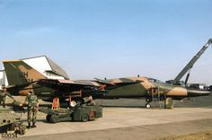 F111 and bomb loader