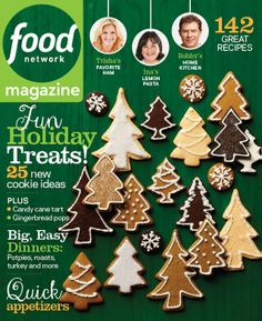 Look for exclusive Food Network products from Kohl's in the December issue of #FNMag, on sale today!