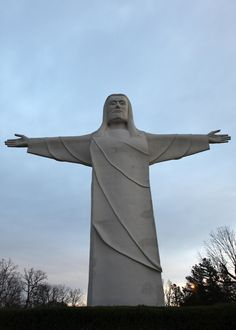 Christ of the Ozarks ~ Eureka Springs, Arkansas                                                                                                                                                      More