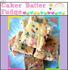 """""""HTM- Cake Batter Fudge"""" by the-hipster-tipsters ❤ liked on Polyvore"""
