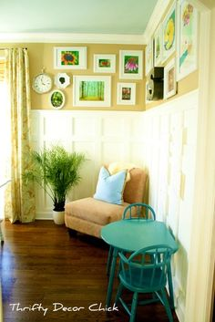Tall Wainscoting Design, Pictures, Remodel, Decor and Ideas - page 10