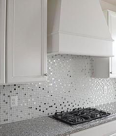 white stone mixed ice crackle clear glass mosaic bathroom mosaic ...