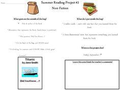 5th grade book report genres