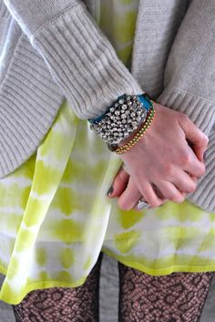 Crystal gem bracelet!