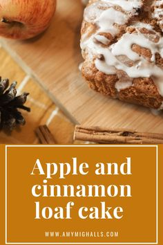 Easy, low cost and super yummy apple and cinnamon loaf cake recipe. The perfect loaf cake to bake in Autumn, enjoy with a nice cup of tea. Loaf Recipes, Sauce Recipes, Baking Recipes, Summer Holiday Activities, Cinnamon Loaf, Cake Mixture, Loaf Cake, Fun Cup, Personal Taste