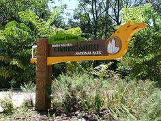 Mulu National Park sign
