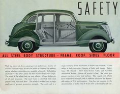 1937 Ford Full Line Brochure. Ford V8, Rear Window, Motor Car, Race Cars, Automobile, Racing, Deco, Vehicles, Cutaway