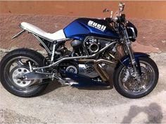 Buell Cafe Racer, Sportster Cafe Racer, Bobber, Buell Motorcycles, Harley Davidson Motorcycles, Cars And Motorcycles, Custom Harleys, Custom Bikes, Bike Design