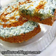 Aysel'in Mutfağı: ISPANAKLI BULGUR SALATASI