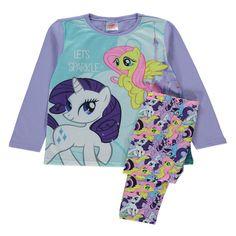 Girls My Little Pony Fluttershy & Rarity pyjamas