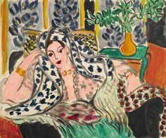 """Matisse, """"Odalisque au Fauteuil Noir"""""""
