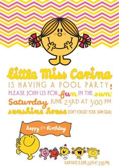 Bright & HAPPY Little Miss Sunshine Party