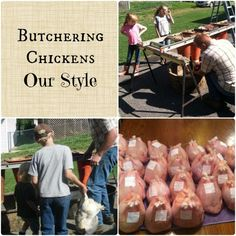 Butchering Chickens- Our Style   The Flip Flop Barnyard