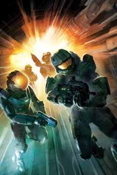 Halo : Escalation Issue # 10 Cover Art by Anthony Palumbo