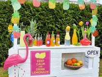 Lemonade Bar / Limonaden Bar für Kaufmannsladen