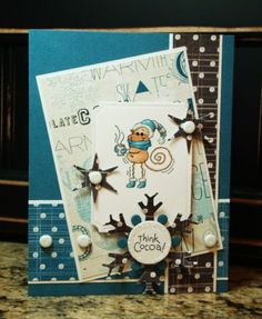 SC366: Think Cocoa! by monkeymama - Cards and Paper Crafts at Splitcoaststampers. Y