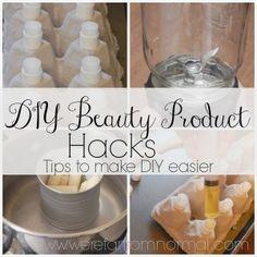 DIY Beauty Product Hacks