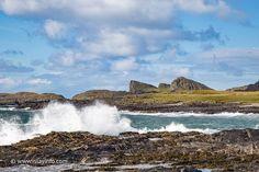 The Sleeping Giant : North of Saligo Bay : Islay