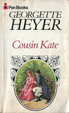 Cousin Kate - love this book! This is the version I have, an old Pan Books imprint from the UK, bought second hand Cycling Books, Books To Read, My Books, Georgette Heyer, Book Cover Art, Book Covers, My Prince Charming, Reading Quotes, Book Authors