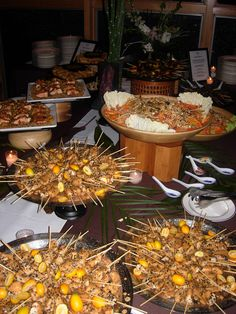 Tommy R's Catering Asian Inspired Buffet #tommyrscatering