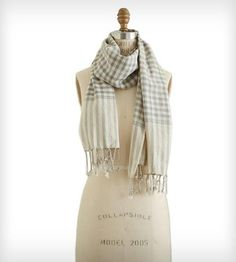 Grey & Cream Gingham Style, can use this style gingham with other colors