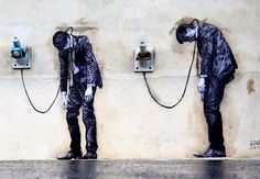 """Reload"" by Levalet detail, Paris, 2015"