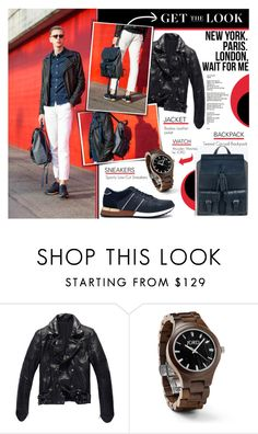 """JORD Wood Watches #8"" by stylect ❤ liked on Polyvore featuring Fieldcrest"