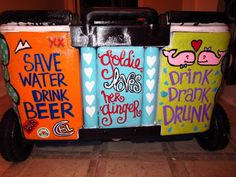 love the save water drink beer & I was thinking about doing drink drank drunk inside