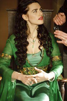 "BBC ""Merlin"" - Katie McGrath as Morgana"