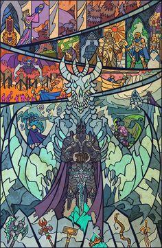 Arthas, o senhor do flagelo. a jornada do herói.