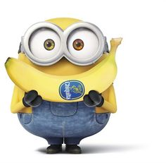 Minions Banana Funny Cartoon For Kids Minions Despicable Me, Minion Smile, Happy Minions, Minions Bob, Happy Birthday Minions, My Minion, Funny Minion, Funny Jokes, Minions Funny Images