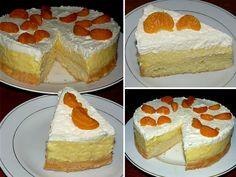 1_dort-brusel-recept Vanilla Cake, Cheesecake, Deserts, Food And Drink, Retro, Mai, Florida, Cheesecakes, The Florida