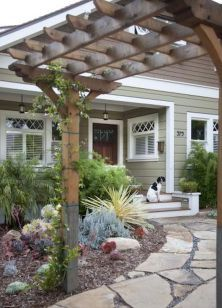 Faboulous Front Yard Path and Walkway Landscaping Ideas (33)