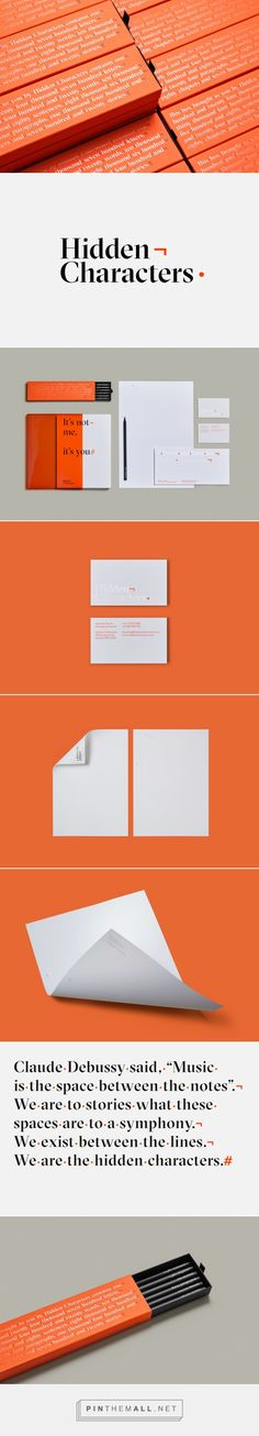 New Brand Identity for Hidden Characters by RE — BP&O - created via https://pinthemall.net