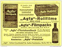 Original-Werbung/Inserat/ Anzeige 1917 - AGFA - ca. 140 x 100 mm