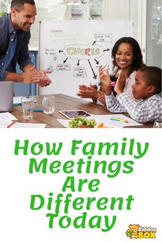 How Family Meetings Are Different Today. Read More... #familymeeting #familyissues #familytable #chores #parenting #family #children #kids #toddler #kiddozbox #kiddozboxshop #earlycorelearning