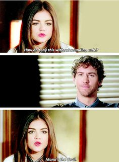 PLL aria and jesse... I don't like jesse maybe he is -A