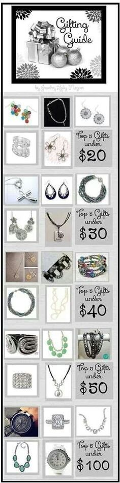 Great gifts!! I am so excited to be a Premier Independent Stylist!!!
