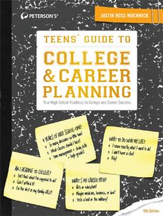 Encore -- Teens' guide to college & career planning : your high school roadmap to college and career success / Justin Ross Muchnick. Financial Aid For College, College Planning, Career Planning, Education College, Career College, College Majors, Kids Education, Types Of Education, Technical Schools