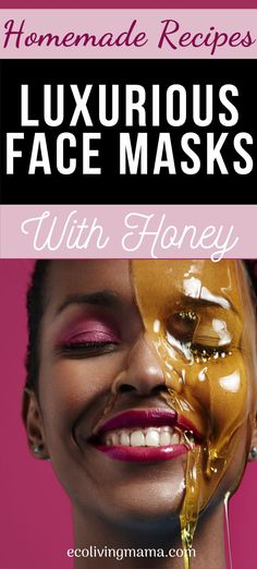 Honey makes an amazing DIY facial mask, and these 11 recipes cover all the bases. Homemade face masks with honey, avocado, manuka honey, lemon, yogurt, clay, and lots of other options for dry, oily, combination or aging skin. Honey is also a great natural acne treatment and makes a wonderful anti-aging face mask.