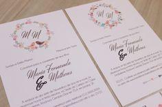 Convite de Casamento de Pássaros DIY Faça Você Mesmo | DIY Wedding Invitation Birds | http://marionstclaire.com/convite-de-casamento-de-passaros-faca-voce-mesmo