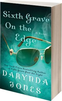 Sixth Grave on the Edge @Darynda #audiobook #review