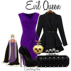 snow white and evil queen disneybound - Google Search