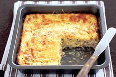 Easy and delicious, this slice can be eaten straight away or packed into lunch boxes for the next day. Tamales, Jai Faim, Tacos, Tamale Pie, Mario Batali, Savory Tart, Recipe Sites, Latest Recipe, Prosciutto