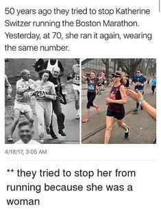 This shows that we need Feminism in the world. We see here that a women of the general population, with strong motivation was able to prove many years later her feminist beliefs were still prevalent. Faith In Humanity Restored, Intersectional Feminism, Badass Women, People Magazine, Equal Rights, Women In History, Black History, History Facts, History Quotes