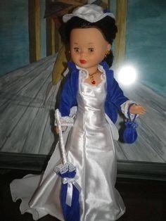 Escarlata Nancy Doll, Scarlett O'hara, Wellie Wishers, Girl Doll Clothes, American Girl, Glamour, Sewing, Vintage, Google