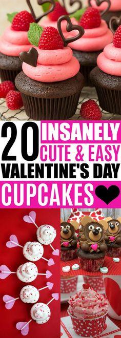 Valentine's Day Cupcakes, Cute Valentine's Day Treats